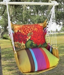Cafe Soleil Full Bloom 3 Hammock Chair Swing Set