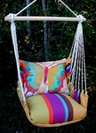 Cafe Soleil Paper Butterfly Hammock Chair Swing Set