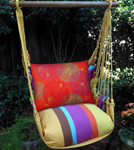 Cafe Soleil Sunburst Circles Hammock Chair Swing Set