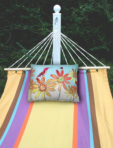 Cafe Soleil Sundure Fabric Hammock - Click to enlarge