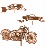 Car & Motorcyle Weathervanes
