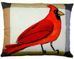 Cardinal Outdoor Pillow