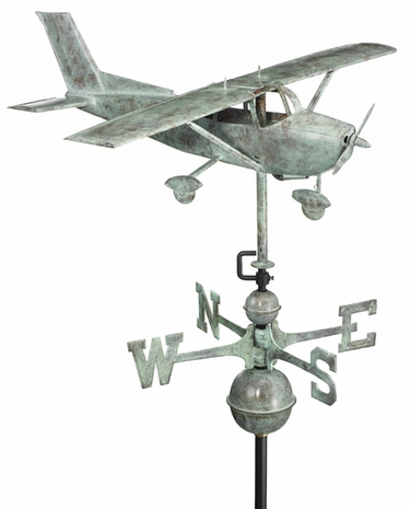 Cessna Plane Weathervane - Click to enlarge