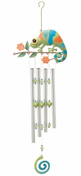 Chameleon Wind Chime - Click to enlarge