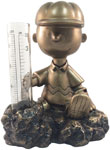 Charlie Brown Rain Gauge - Antique Bronze