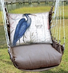 Chocolate Majestic Heron Hammock Chair Swing Set