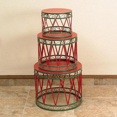 Christmas Drums (Set of 3) - Click to enlarge