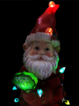 "Christmas Gnome w/LEDs: ""Deck the Halls"""