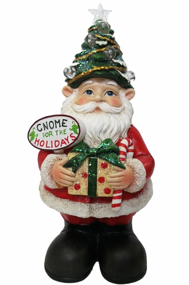 Christmas Gnome W Color Changing Leds Quot Gnome For The