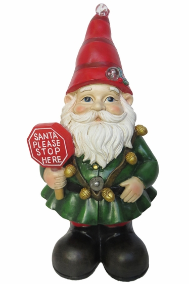 Christmas Gnome w/LEDs: