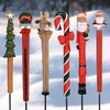 Christmas Holiday Pot Stakes (Set of 6)