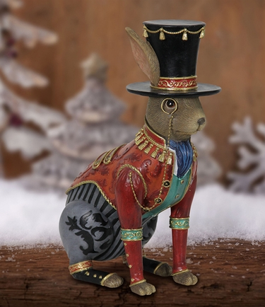 Christmas Rabbit Decor - Click to enlarge