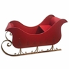 "64"" Red Metal Sleigh"