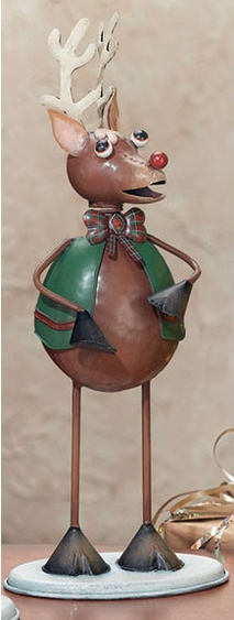 Christmas Rudolph Figurine - Click to enlarge