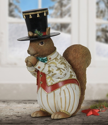Christmas Squirrel Decor - Click to enlarge