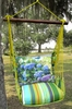 Citrus Hydrangeas & Butterfly Hammock Chair Swing Set