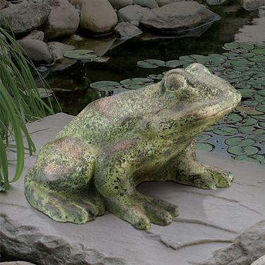 Classic Frog Statue - Click to enlarge