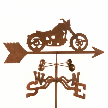 Classic Motorcycle  Weathervane - Click to enlarge