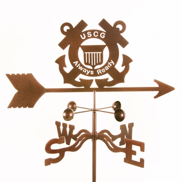 Coast Guard Weathervane - Click to enlarge