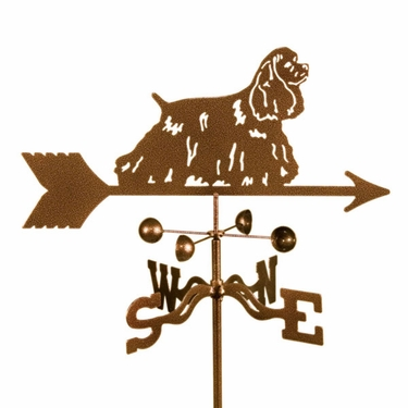Cocker Spaniel Weathervane - Click to enlarge
