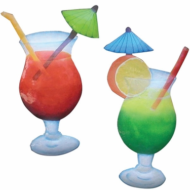 Cocktail Drinks Decor (Set of 2) - Click to enlarge