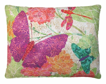 Colors of Nature Butterflies Outdoor Pillow - Click to enlarge