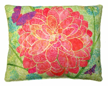 Colors of Nature Flower Outdoor Pillow - Click to enlarge