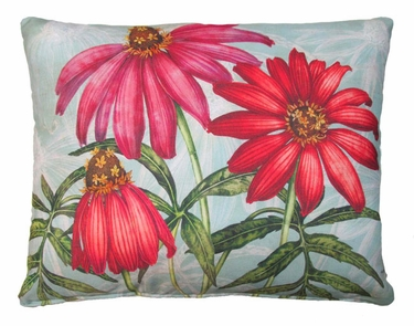 Coneflowers Outdoor Pillow - Click to enlarge