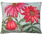 Coneflowers Outdoor Pillow