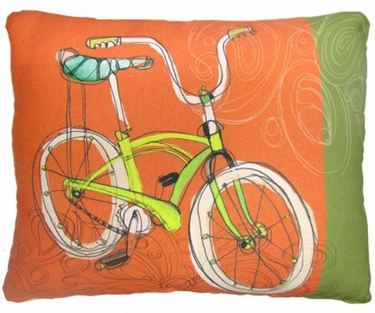 Cool Bicycle Outdoor Pillow - Click to enlarge