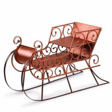 Copper & Brown Sleigh - Click to enlarge