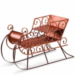 Copper & Brown Sleigh