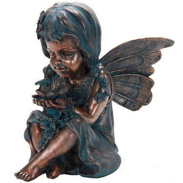 Copper Fairy Statue - Click to enlarge