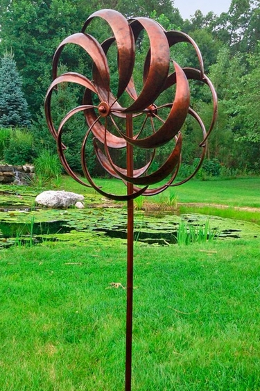 Copper Windward Spinner - Click to enlarge
