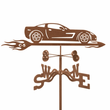 Corvette C5 Weathervane - Click to enlarge
