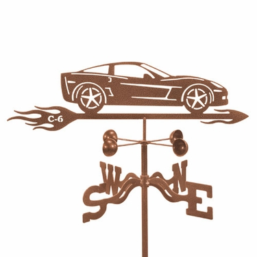 Corvette C6 Weathervane - Click to enlarge