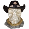 Cowboy Skull Garden Decoration