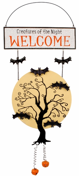 Creatures of the Night Hallloween Door Hanger - Click to enlarge