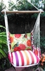 Cristina Stripe Nature Birds Hammock Chair Swing Set