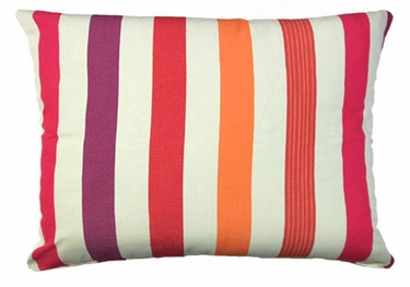 Cristina Stripe Outdoor Pillow - Click to enlarge