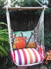 Cristina Stripe Watering Can Hammock Chair Swing Set