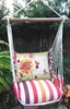 Cristina Stripe Whimsy Birds Hammock Chair Swing Set