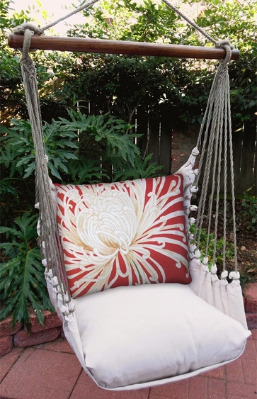 Curly Mums Hammock Chair Swing Set - Click to enlarge