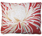 Curly Mums Outdoor Pillow