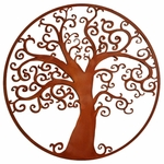 """Curly"" Tree of Life Wall Art"