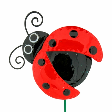 Cute Love Bug Stakes (Set of 6) - Click to enlarge