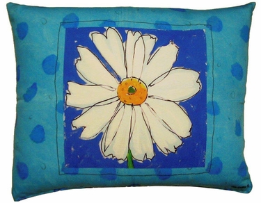 Daisy Outdoor Pillow - Click to enlarge
