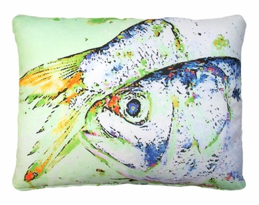 Dead Bait Fish Outdoor Pillow - Click to enlarge