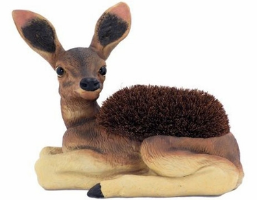 Deer Boot Brush Scraper - Click to enlarge