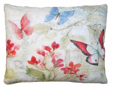 Delicate Butterflies Outdoor Pillow - Click to enlarge